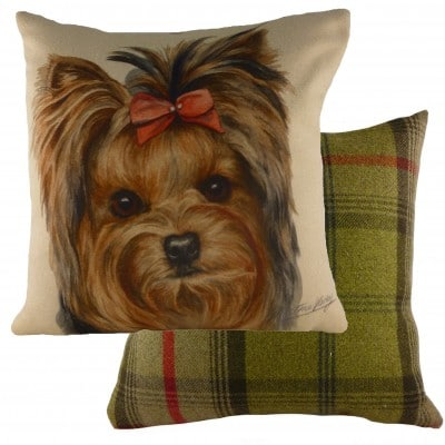 DP921 - 43cm Ke Waggydogz Yorkie Cushion