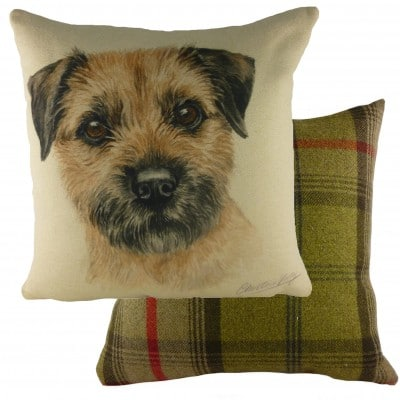 DP931 - 43cm Ke Waggydogz Border Terrier Cushion