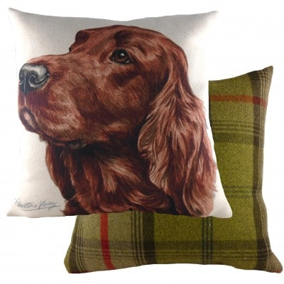 DPA272 - 43cm Ke Waggydogz Irish Setter Cushion