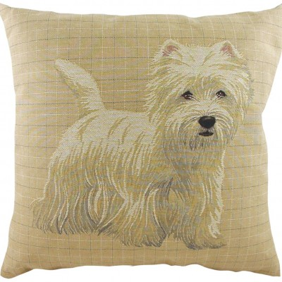 LB031 - 18' Breeds Westie Cushion