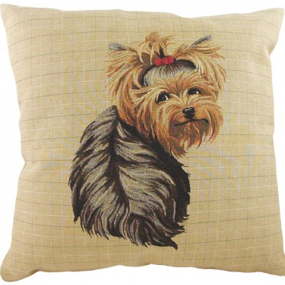 LB032 - 18' Breeds Yorkie Sitting Cushion