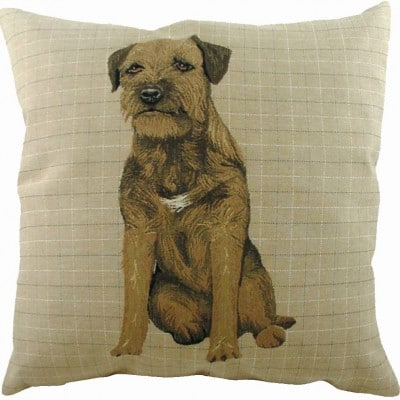 LB037 - 18' Breeds Border Terrier Cushion
