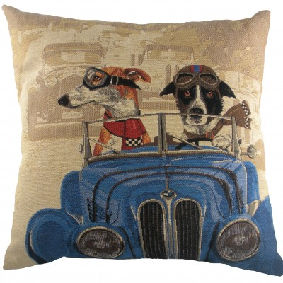 LC029 - 18' Wacky Races Blue Cushion