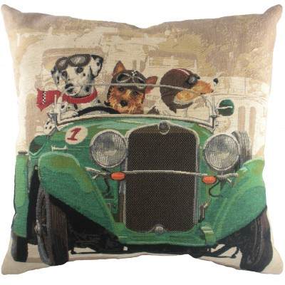 LC030 - 18' Wacky Races Green Cushion