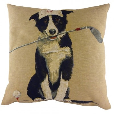 LC550 - 18' Sporting Border Collie Cushion