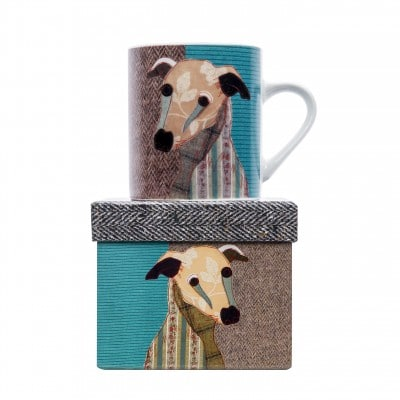 MA0532 - MAGPIE - POOCHIES PETITE MUG - MR. WHIPPET