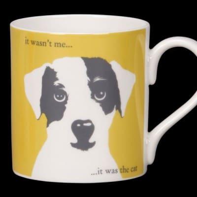 Scruff-yellow mug
