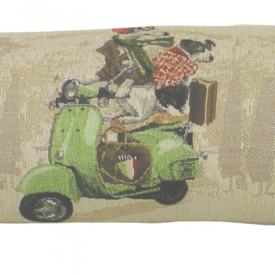 T221 - Draught Excluder Scooter Dogs