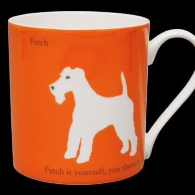 Terrier Mug Orange
