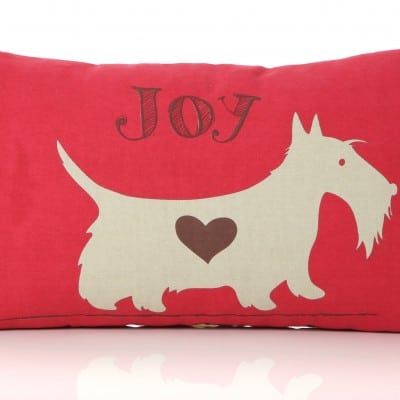 Scottie Joy cushion 50cm x 30cm
