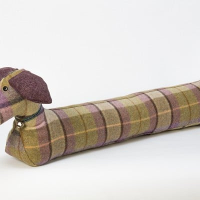 Hannah Williamson sausage dog draught excluder bramble patch