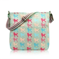 Poodle crossbody Green