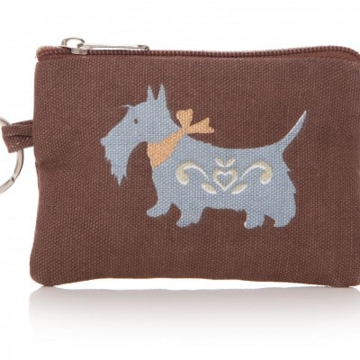 Lisa Buckridge Scottie coin purse brown