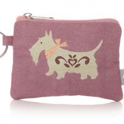 Lisa Buckridge Scottie coin purse lilac
