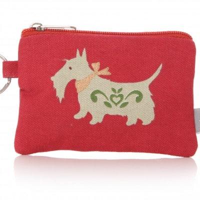 Lisa Buckridge Scottie coin purse red