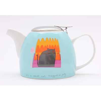 Jane Ormes Thinking Cats 750ml teapot