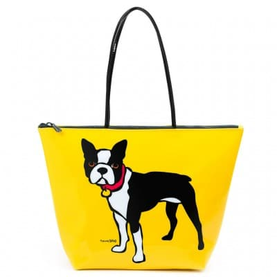 Marc Tetro Boston Terrier PVC Tote Bag