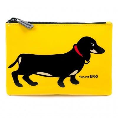 Marc Tetro Dachshund Cosmetic Bag