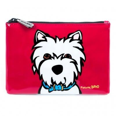 Marc Tetro Westie Cosmetic Bag