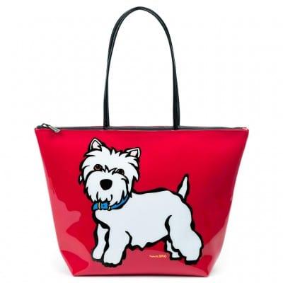 Marc Tetro Westie PVC Tote Bag