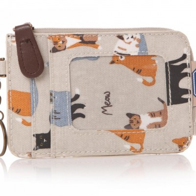 MEOW! RSPCA Cat Oilcloth Coin Purse