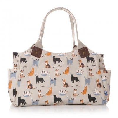 MEOW! RSPCA Cat Oilcloth Day Bag