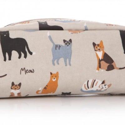MEOW! RSPCA Cat Oilcloth Pencil Case