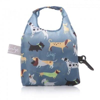 Lisa Buckridge Walkies foldable shopper blue