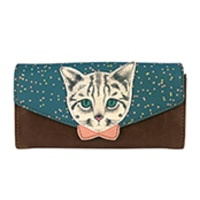 Disaster Designs Meow Envelope Wallet