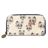 Disaster Designs Meow Wallet Repeat Print
