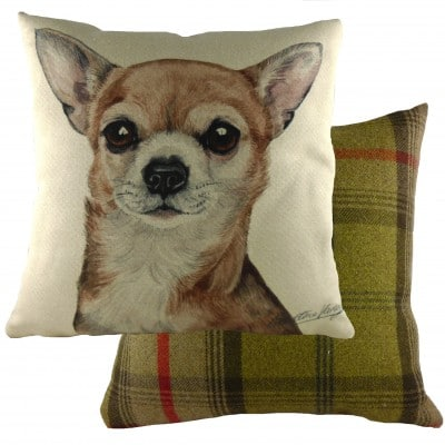 DPA265 - 43cm Ke Waggydogz Chihuahua Cushion