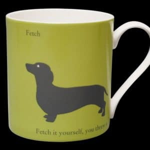 Dachshund Mug Green fetch