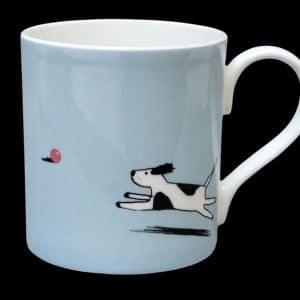 Quick Dog Blue Mug
