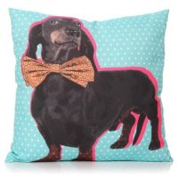 Large cute Dachshund cushion 60cm x 60cm