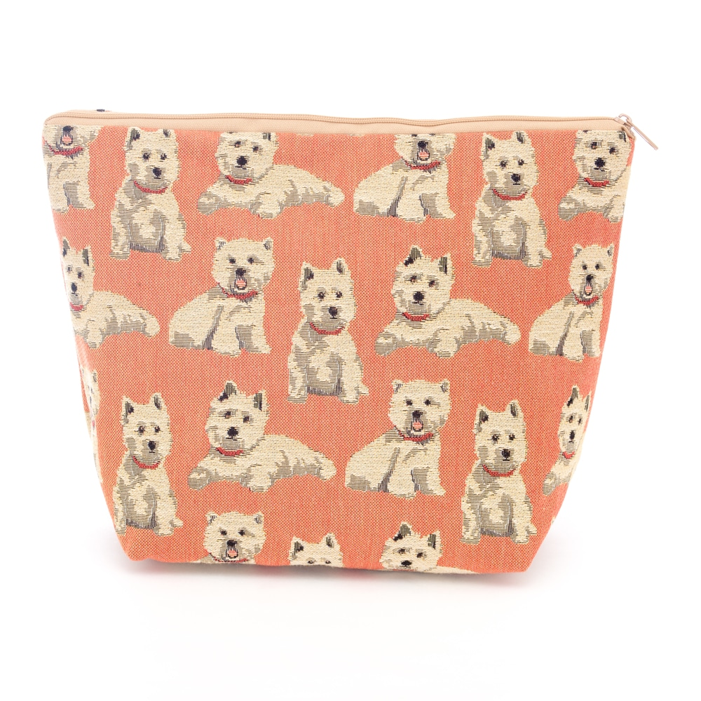 Tapestry large washbag Westie