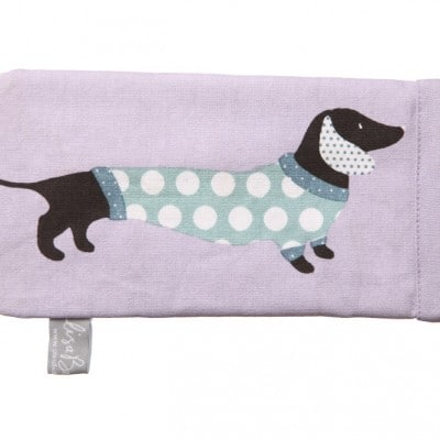 Lisa Buckridge Hot Dog spectacles case lilac