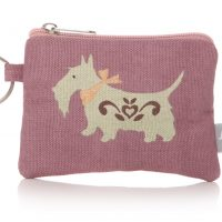 Lisa Buckridge Scottie coin purse lilac
