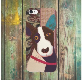 Poochies iphone 5 case Bull Terrier