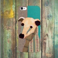 Poochies iphone 5 case Whippet