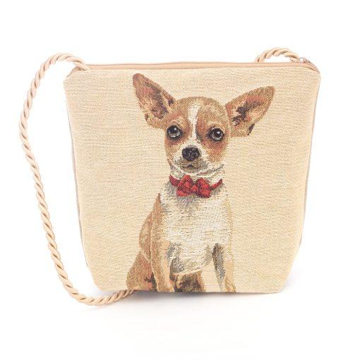 Tapestry crossbody bag Chihuahua