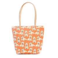 Tapestry large shopper Westie