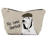 No S...T Sherlock Washbag