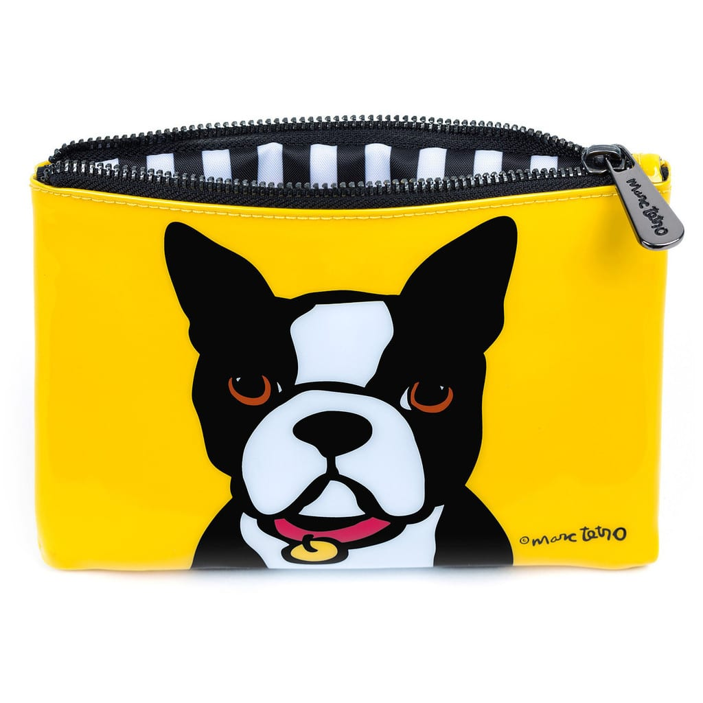 Marc Tetro Boston Terrier Cosmetic Bag