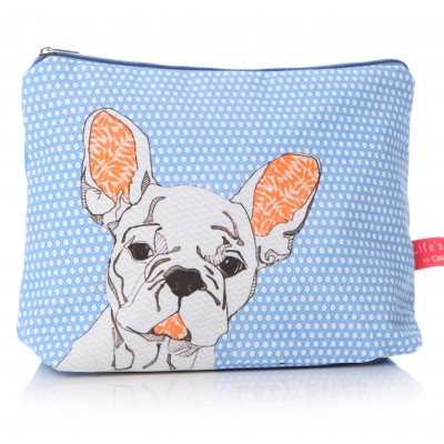 French Bulldog Washbag