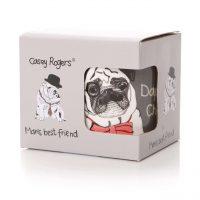 Dapper Chap Pug Boxed Mug