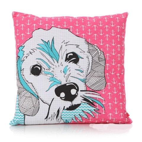 Scruffy Pup Cushion
