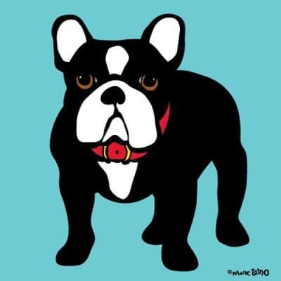 Marc Tetro French Bulldog Print