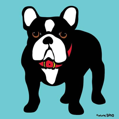 Marc Tetro French Bulldog Print