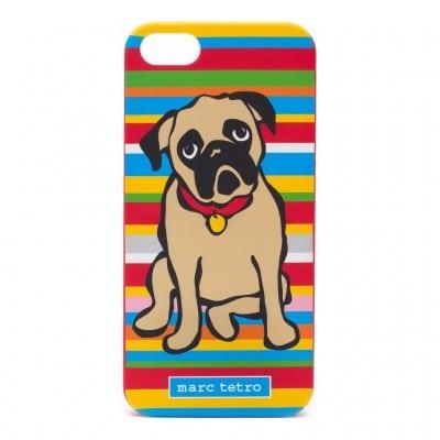 Marc Tetro Pug iphone 5 5S and SE case