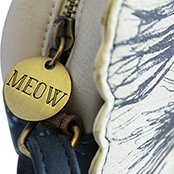 Disaster Designs Meow Mini Bag with Meow Charm